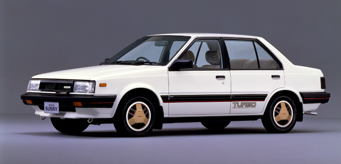 日産 サニー ターボ・ルプリ セダン 1982