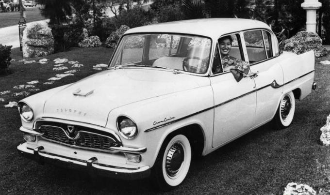 トヨペット クラウンCustom 1959-62