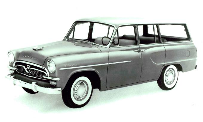 トヨペット クラウンステーションワゴン 1959