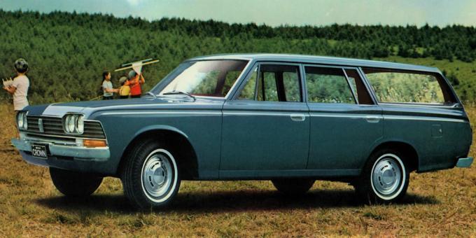 トヨペット クラウン ワゴン 1967-71