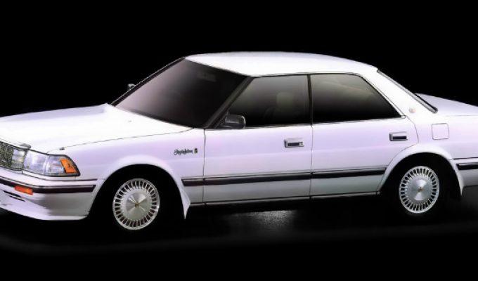 トヨタ クラウン (8代目 S13 1987-1999):エアサスペンション車やV8エンジン車を設定