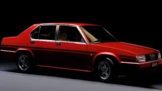 アルファロメオ 90 ('84-'87):アルフェッタの後継モデルとして登場したミディアムクラス