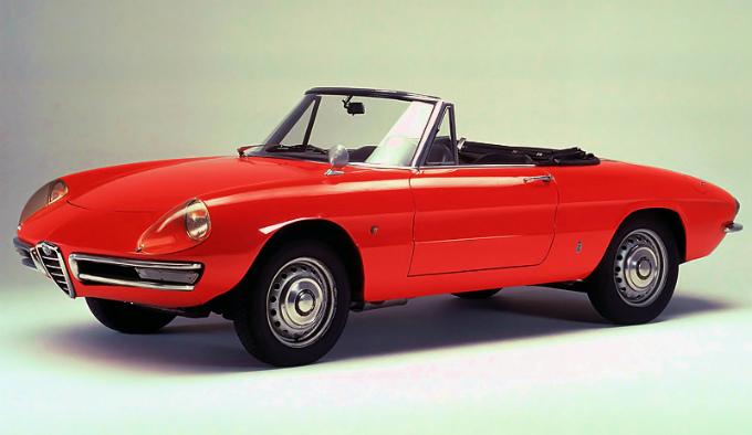 アルファロメオ スパイダー 1966