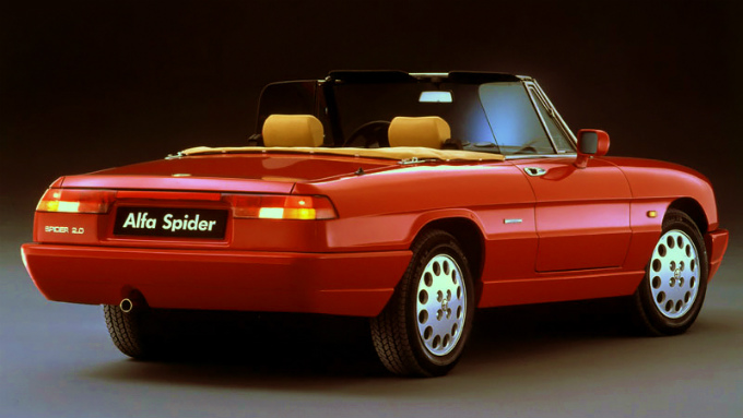 アルファロメオ スパイダー 1990 (出典:favcars.com)