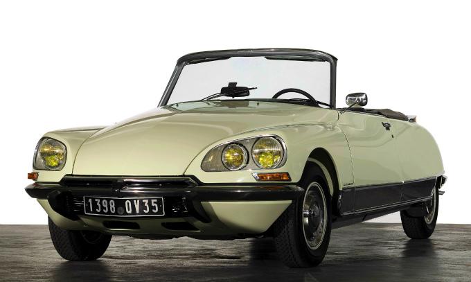 シトロエン DS Cabriolet 1973