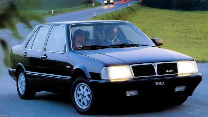 ランチア テーマ i.e._Turbo 1984