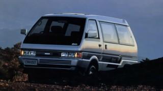 日産 バネットラルゴ (2代目GC22 '86-'93):バネットシリーズと異なるプラットフォームを採用