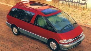 トヨタ エスティマ (初代 '90-'00):タマゴ型ボディ+ミッドシップの未来感覚ミニバン [TCR1/2]