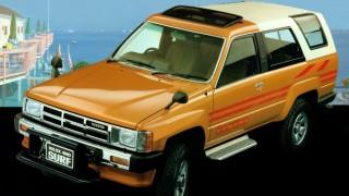トヨタ ハイラックスサーフ (初代 '83-'89):リムーバブル・ハードトップを採用したSUV [N60]
