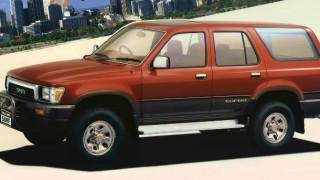 トヨタ ハイラックスサーフ (2代目 '89-'95):リムーバブルトップを廃止し4WD仕様に一本化 [N130]