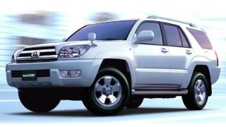 トヨタ ハイラックスサーフ (4代目 '02-'09):先代からフレームを刷新しボディを一回り拡大 [N210]