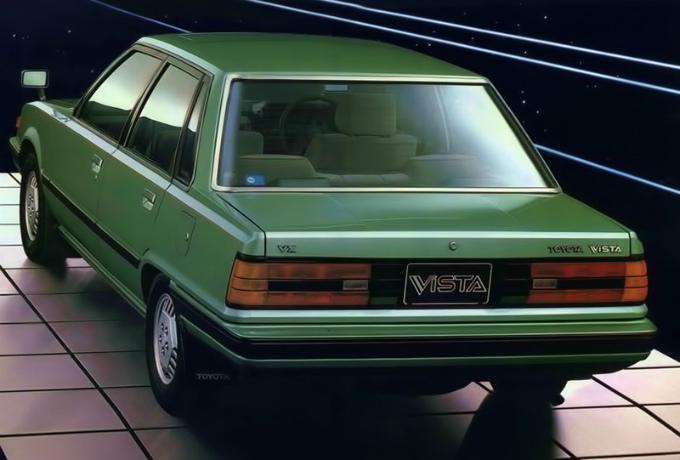 トヨタ ビスタ 1982