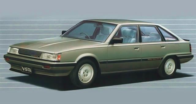 トヨタ ビスタ リフトバック 1984