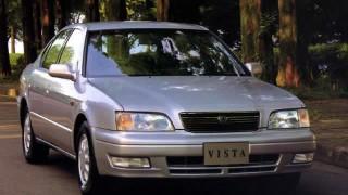 トヨタ ビスタ (4代目 '94-'98):先代からホイールベースを延長しディーゼルエンジンを刷新 [V4]